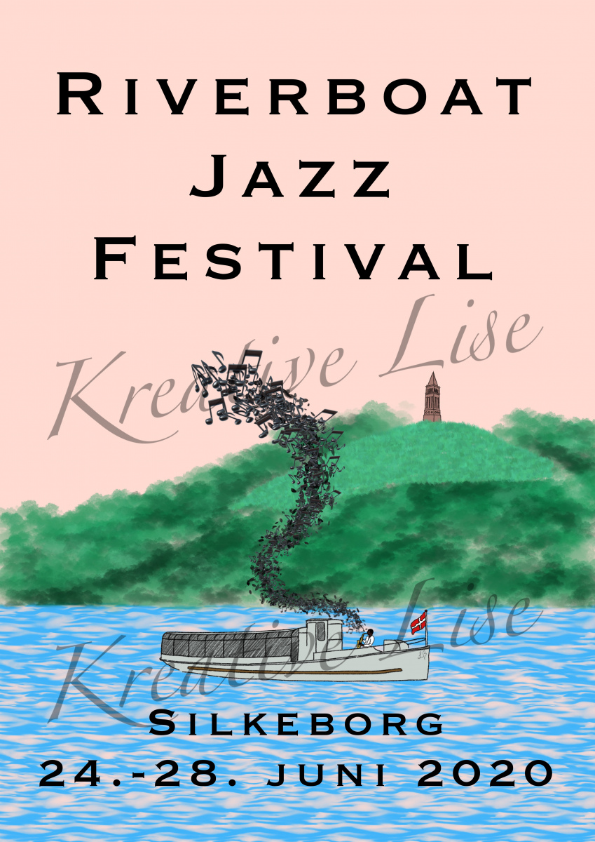 Riverboat Jazz Festival Plakatkonkurrence