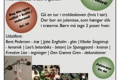 Den Grønne Gren - julemarked - plakat