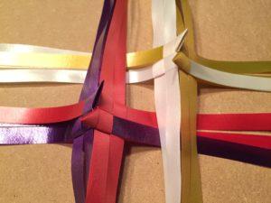 DIY (4) - 2 x 2 bunde flettet sammen