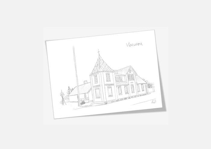 Kreative Lise - Lokale kort fra THY - Vorupør gamle telefonentral