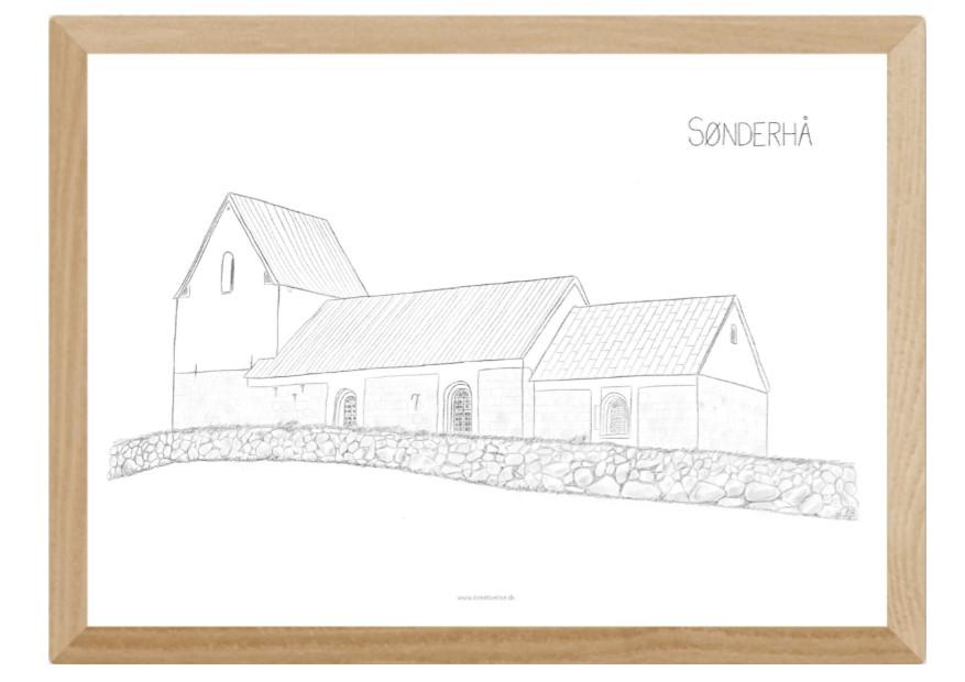 Kreative Lise - Lokale plakater fra THY - Sønderhå Kirke