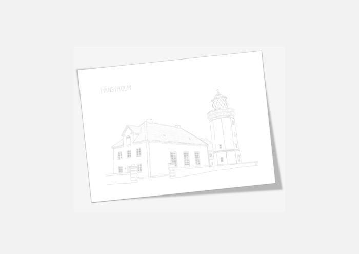 Kreative Lise - De lokale kort fra THY - Hanstholm Fyr