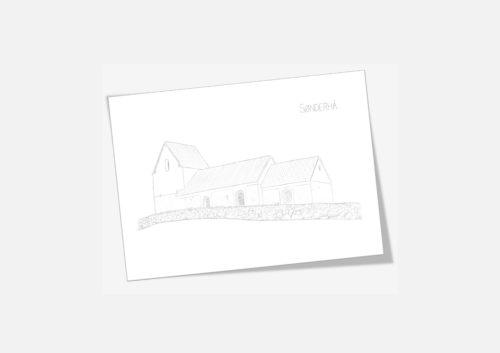 Kreative Lise - De lokale kort fra THY - Sønderhå Kirke