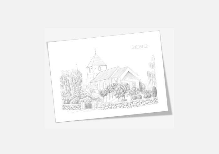 Kreative Lise - De lokale kort fra THY - Snedsted Kirke