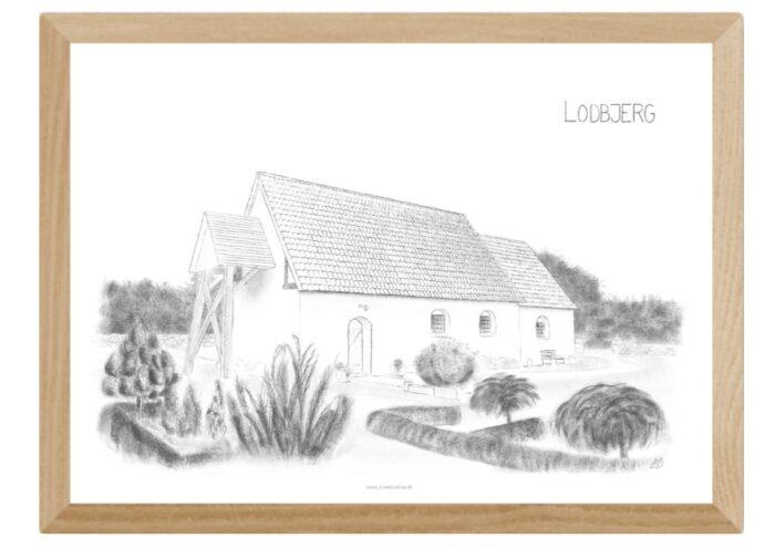 Varebillede Lodbjerg Kirke