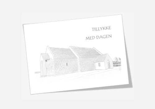 Varebillede Hansted Kirke telegram