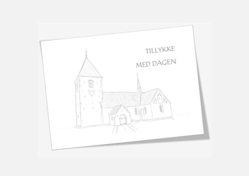 Varebillede Hurup Kirke telegram