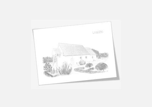 Varebillede Lodbjerg Kirke kort