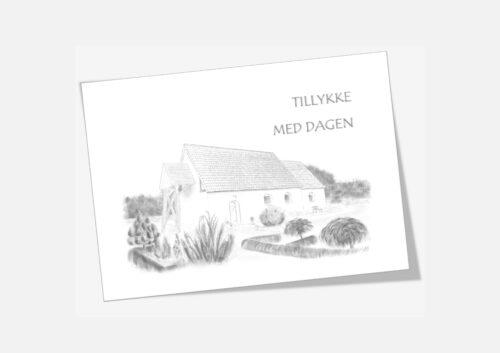 Varebillede Lodbjerg Kirke telegram