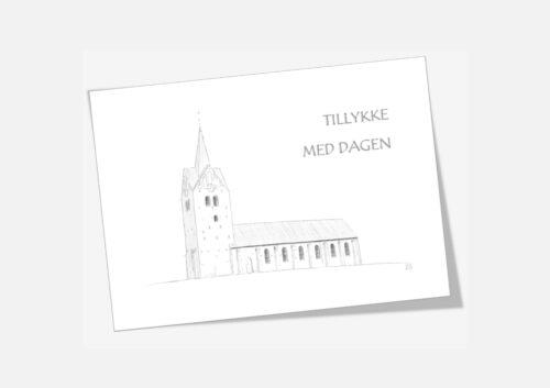 Varebillede Thisted Kirke telegram