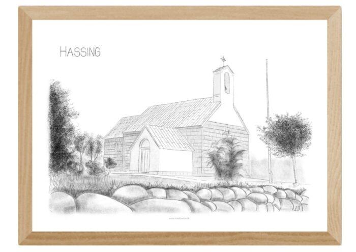 Varebillede Hassing Kirke
