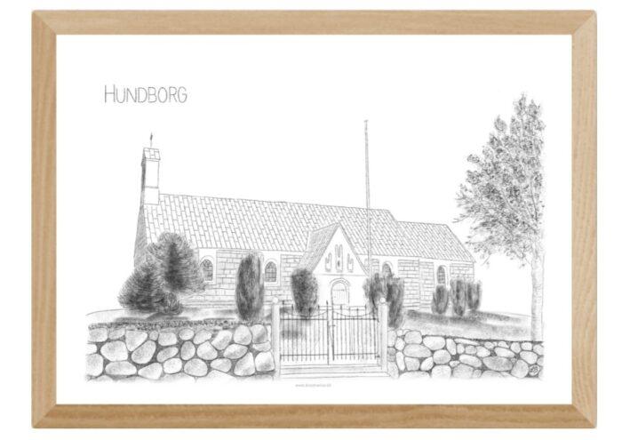 Varebillede Hundborg Kirke