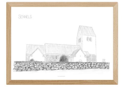 Varebillede Sennels Kirke