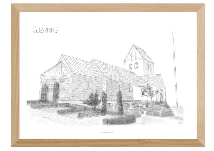 Varebillede Sjørring Kirke