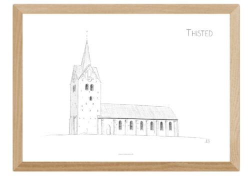 Varebillede Thisted Kirke