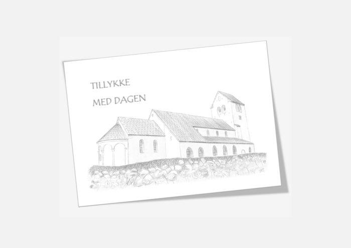 Varebillede Vestervig Kirke telegram