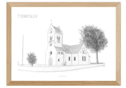 Varebillede Fjerritslev Kirke