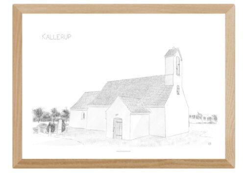 Varebillede Kallerup Kirke