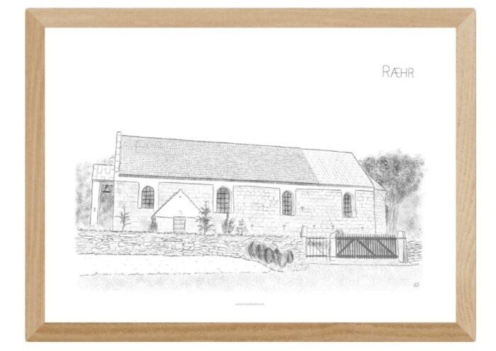Varebillede Ræhr Kirke