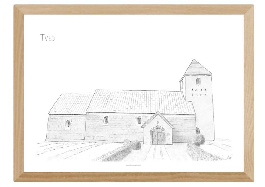 Varebillede Tved Kirke