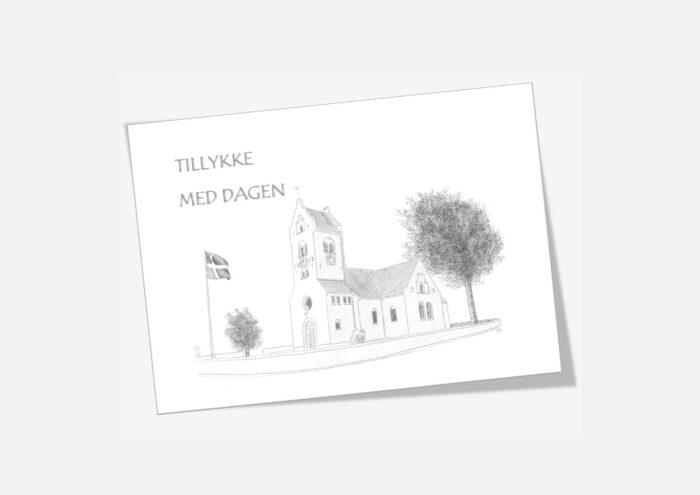 Varebillede Fjerritslev Kirke telegram