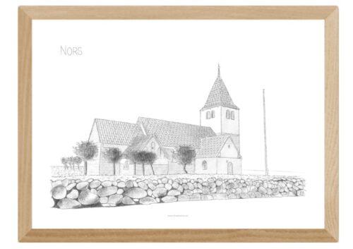 Varebillede Nors Kirke