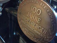 Den smukke gamle Heidelberg Vingeautomat, som vi har købt af Nordjysk Tryk