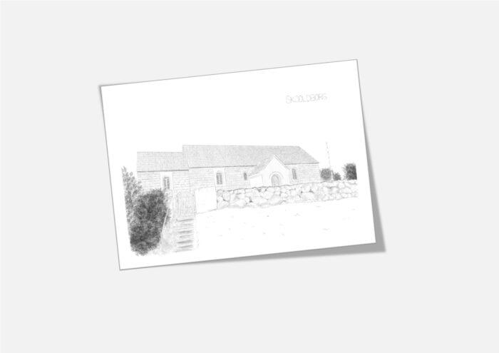 Varebillede Skjoldborg Kirke kort