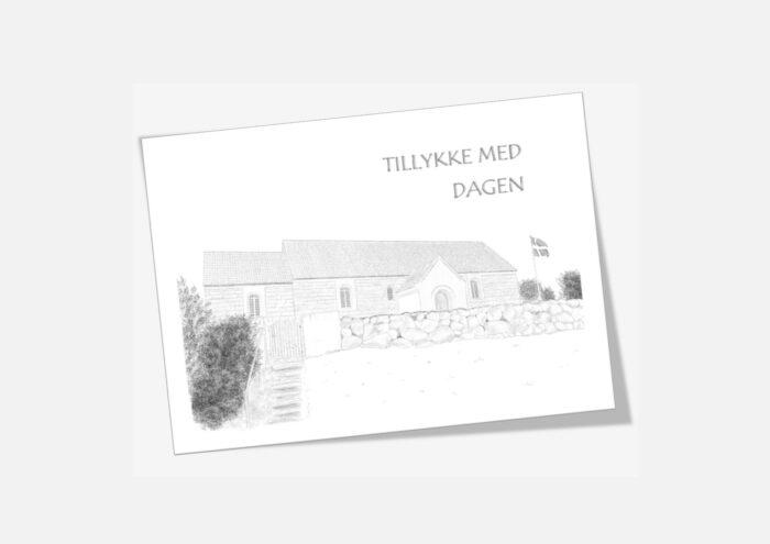 Varebillede Skjoldborg Kirke telegram