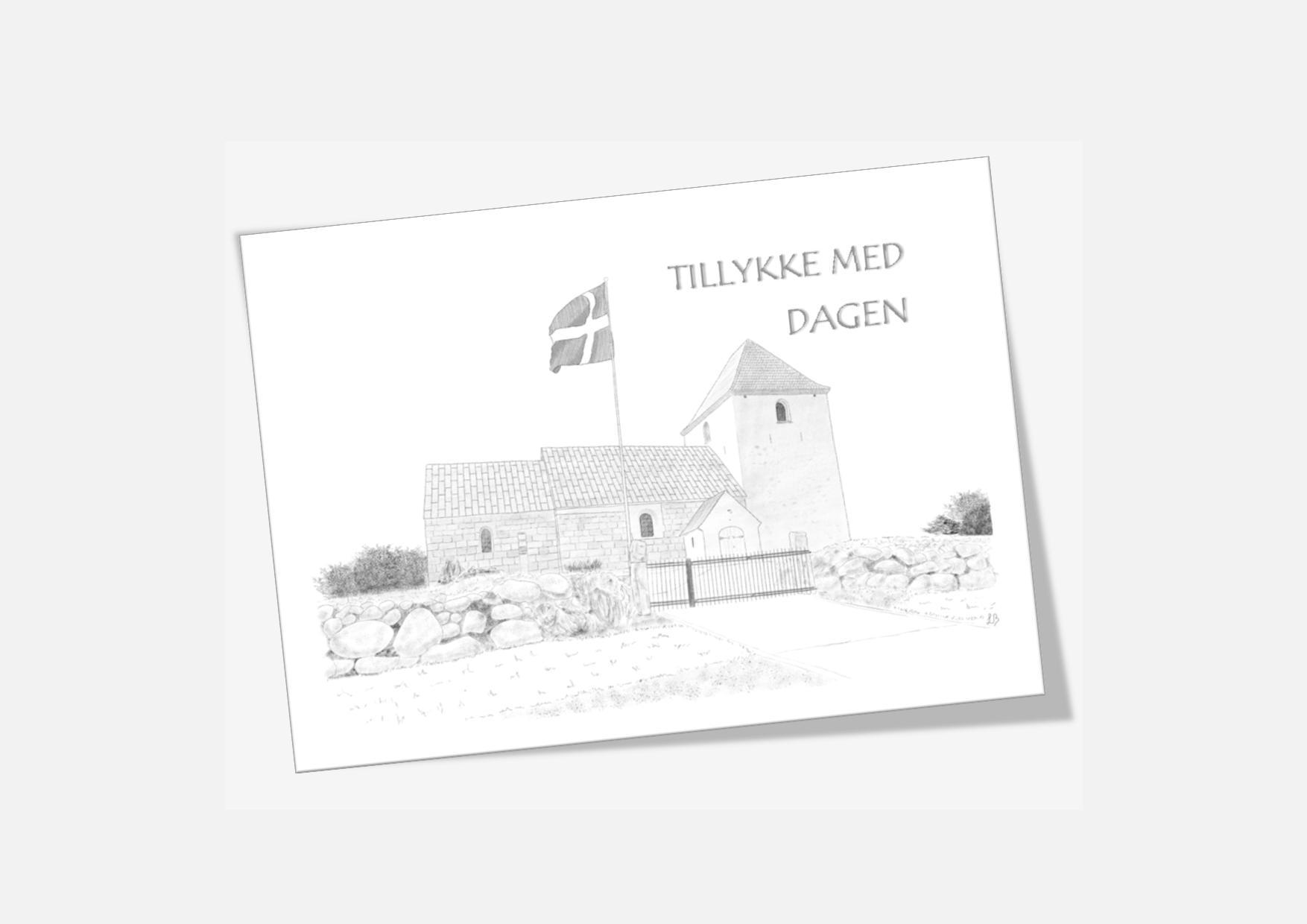 Varebillede Solbjerg Kirke telegram
